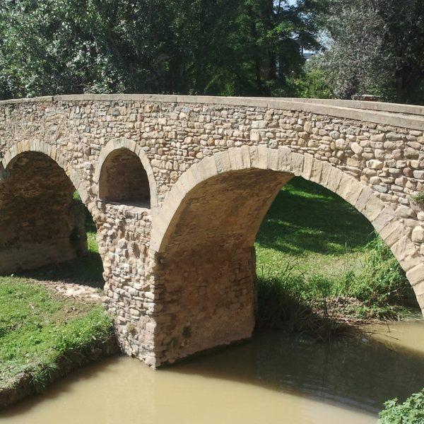 Le pont de Queralt à Vic (Catalogne)
